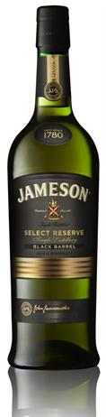 Jameson Irish Whiskey Black Barrel Select Reserve 80@